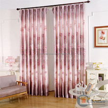 fancy style blackout cheap cotton satin curtain fabric