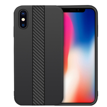 DFIFAN Phone Covers for iphone x Matte Flexible Carbon Fibre Moblie Phone Case for iphone x
