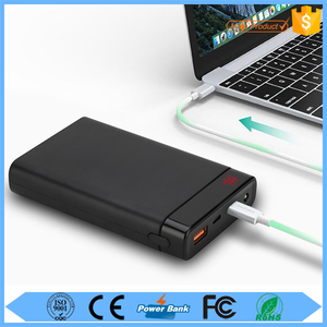 Quick Charge QC 2.0 USB 3.1 Power Bank Type C for MacBook