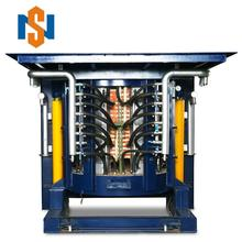 3 Tons capacity automatically titling scrap aluminum cheap medium frequency induction furnace manufacturer