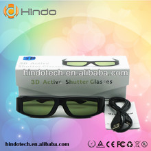 3d glasses active for 3D TV, work on sony/ Samsung/ Sharp/ LG/ PANASONIC/ CHANGHONG 3d tv, USB rechargeable type