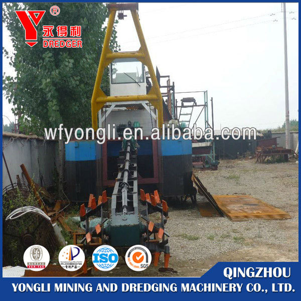 Factory price good quality large size sea gold suction dredge
