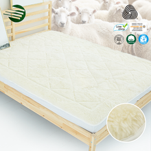 Mattress Topper Pad Wholesale Cheap Sleep Well Double Size Australian Wool Underlay Chinese Alibaba Bed Mattress