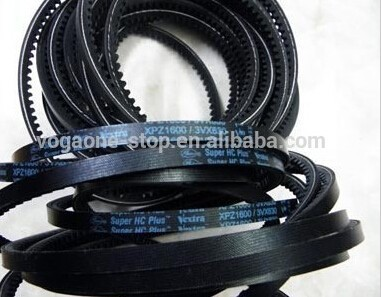 Atlas copco driving belts 1613903201 for air compressor