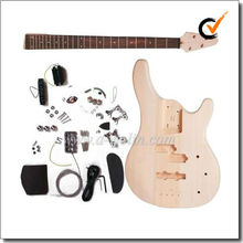 Unfinished DIY electric bass kits (EBS200-W)