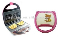 2012 hot selling portable waffle stick maker