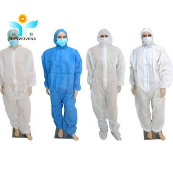 orange blue white mechanic safety Factory wholesale non-woven Disposable coveralls work