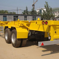 Low Bed Trailer Truck For Machinery