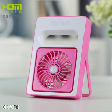 Factory Price Pink Handheld Battery Operated Mini Fans For Student