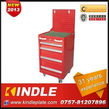 Kindle 31 years experience roller Customized wooden tool box toy with drawers