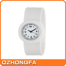2015 Hot Sell Silicone Slap Watch Faces
