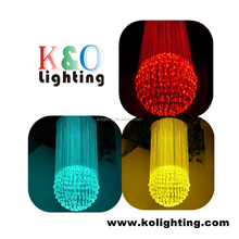 Color Changing Crystal Fiber Optic Decorative Ball Light for Hotel Ceiling