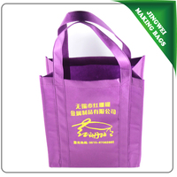 cheap and high quality Non woven Shopping Bag with customized LOGO printing