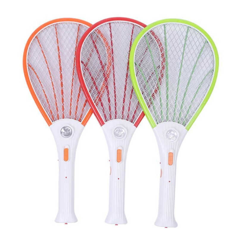 Multi-function Shell-shaped Rechargeable Electric Mosquito Swatter EM-009