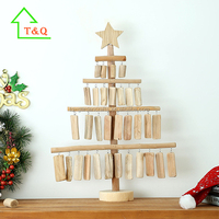 2016 Unique Creative Wooden Christmas Tree handicrafts importer in europe