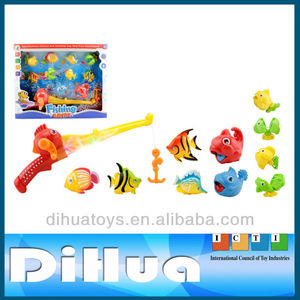 11 Pieces Battery Operated Fishing Game