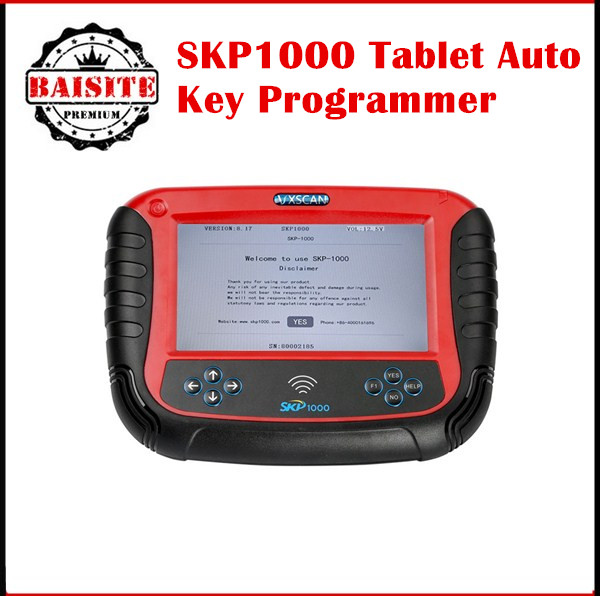 Factory price!!Original skp <strong>1000</strong> skp1000 tablet auto key programmer With Special Functions for All Locksmiths with good feedback