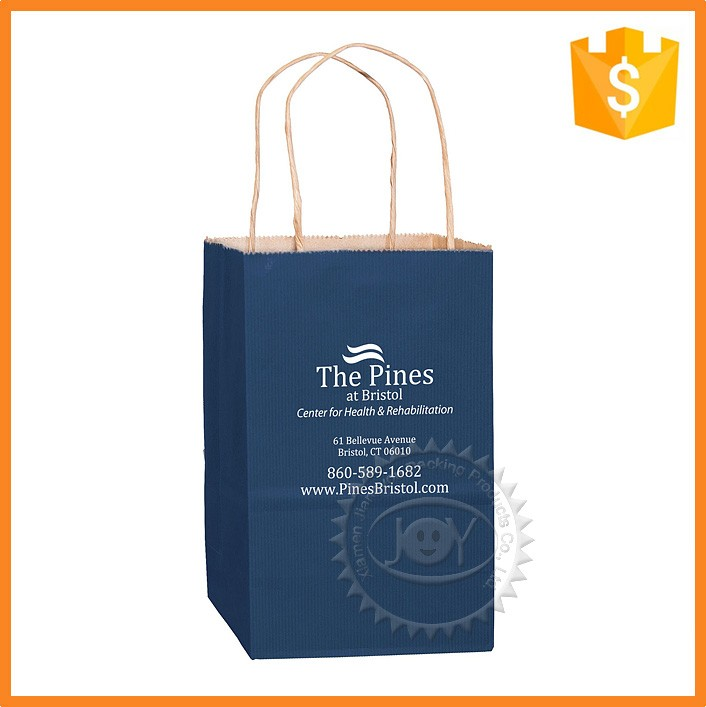 Custom paper services bags no minimum wage