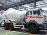 North Benz Concrete Mixer Truck 9 CBM Diesel Concrete Mixing