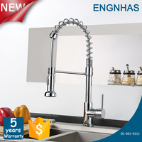 360 degree swivel pull out kitchen faucet