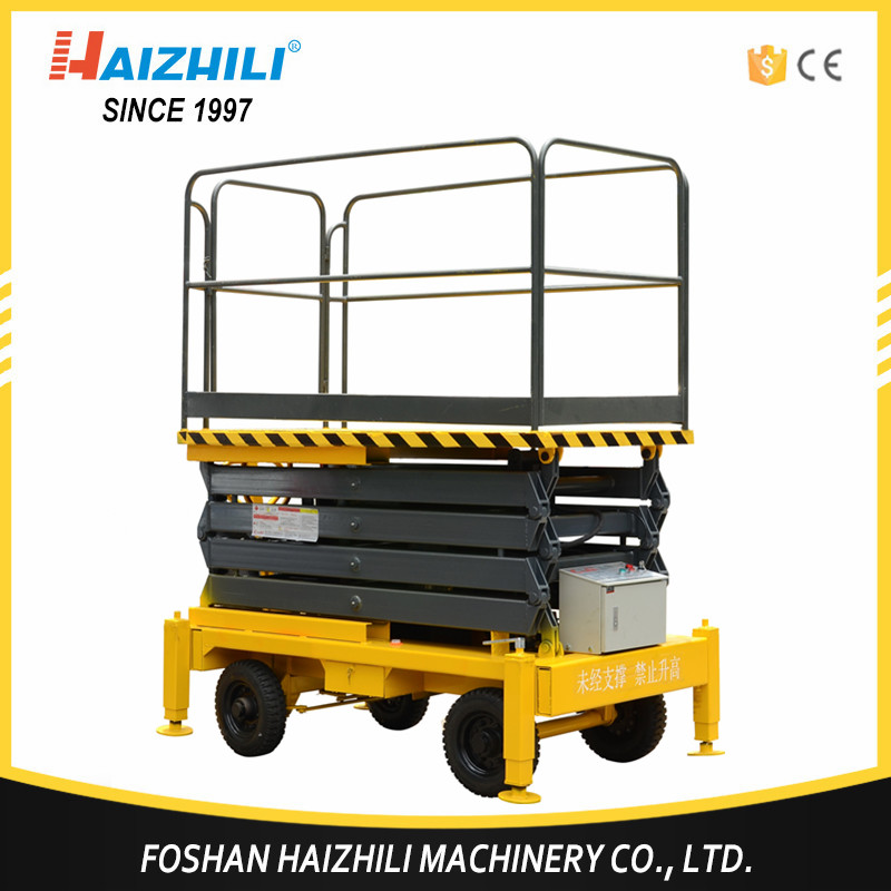 Hot sale general industrial equipment car lift scissor