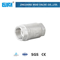 1/4 to 4 inch 2PC Spring Female Threaded Check Valve for Industry