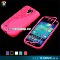 Full protection tpu case for samsung galaxy s4 mini with touch screen
