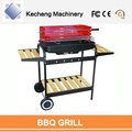 High-Temperature Painted Red Color Outdoor Backyard Grill for BBQ