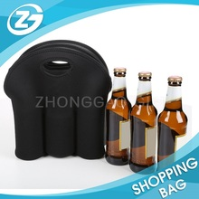 Best selling Custom Size Print Wholesale 6 bottle Neoprene Insulated Beer Bottle Bag Sleeve