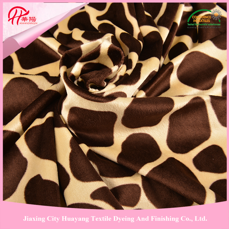 High quality and best service 100% Polyester minky fabric