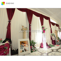 beauty pageant backdrop decorations/fabric wall backdrop/photo studio backgrounds curtains wholesale
