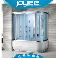 J-WLT920 China factory price acrylic tub shower cabin steam bathroom