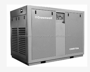Screw Air Compressor- Direct coupling type CWD110KW/150HP A/W