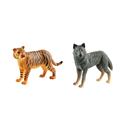ICTI certificated custom made plastic animal tiger figures toy