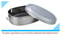 stainless steel lunch box with spray print lid/metal lunch box/lunch box with lock