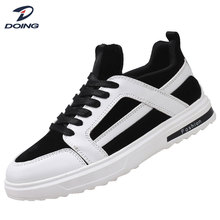 Good quality fashion comfortable pu lycra sport shoes and sneakers for men