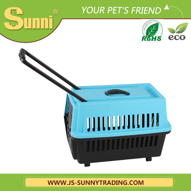 Factory wholesale trolley pet carrier the dog kennel