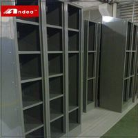 New design office locker cabinet wall mirrors closet 6 compartment storage locker cabinet