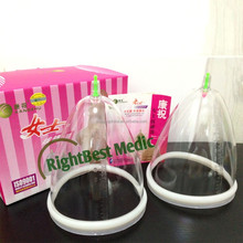 Chinese cupping KangZhu Enlarge Breast Cupping Set For Female breset massage
