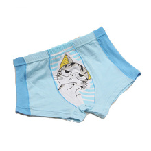 Lovely design fashion and comfortable printed lovely cartoon children boxer underwear for girls