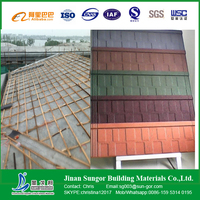 Realiable Supplier Secure Payment Colorful Stone Coated Metal Roof Tile