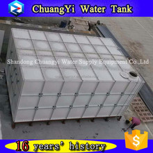 2017 Customized Fiberglass fish tank for sale,grp panel water tank,fiberglass aquaculture tank