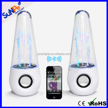 Portable Water Dancing Show Wireless Bluetooth Speaker with led light