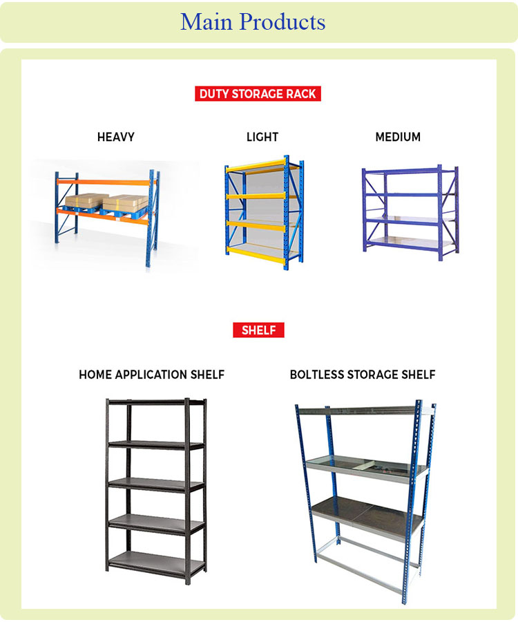 Dismountable Multi-Level Bins Storage Rack and Metal Storage Shelf