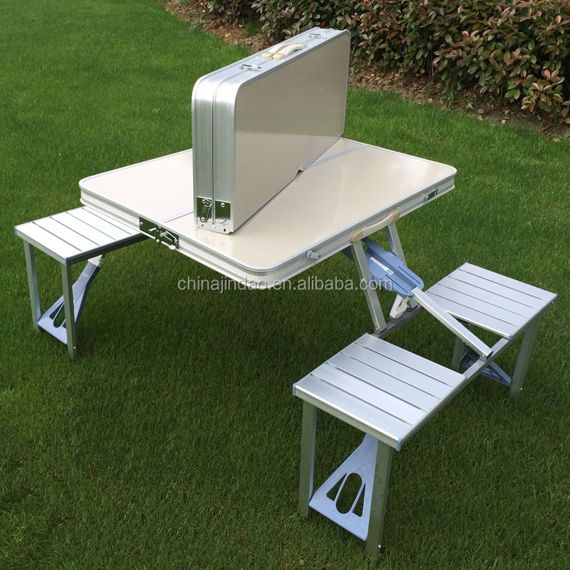 folding picnic table patio low moq suitcase carrying folding picnic table and chairs buy chairsplastic chairsfolding