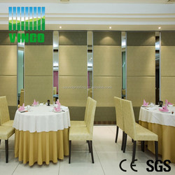 new design sliding wall partition home adopt