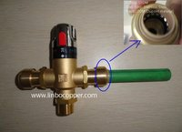 "LinBo LBA 1/2"" brass lead free flexible hoses,Solar Water Heaters,flexible house with end fitting"