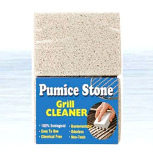 household cleaner BBQ grill cleaning pumice stone foam glass