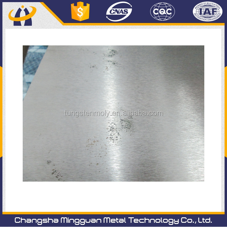 Durable hot selling tungsten plate for heating induction