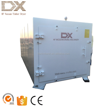 high-frequency oven for drying wood in vacuum condition